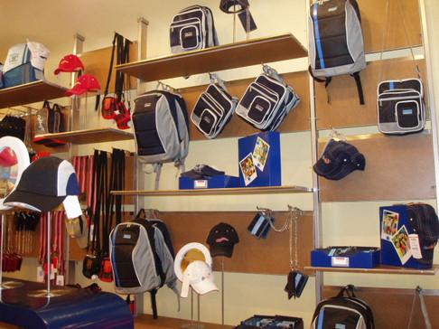 Bags, caps, belts