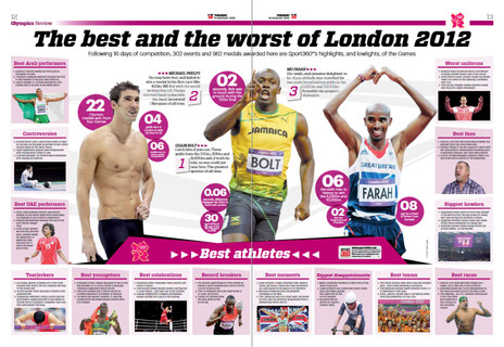 London Olympics best and worst