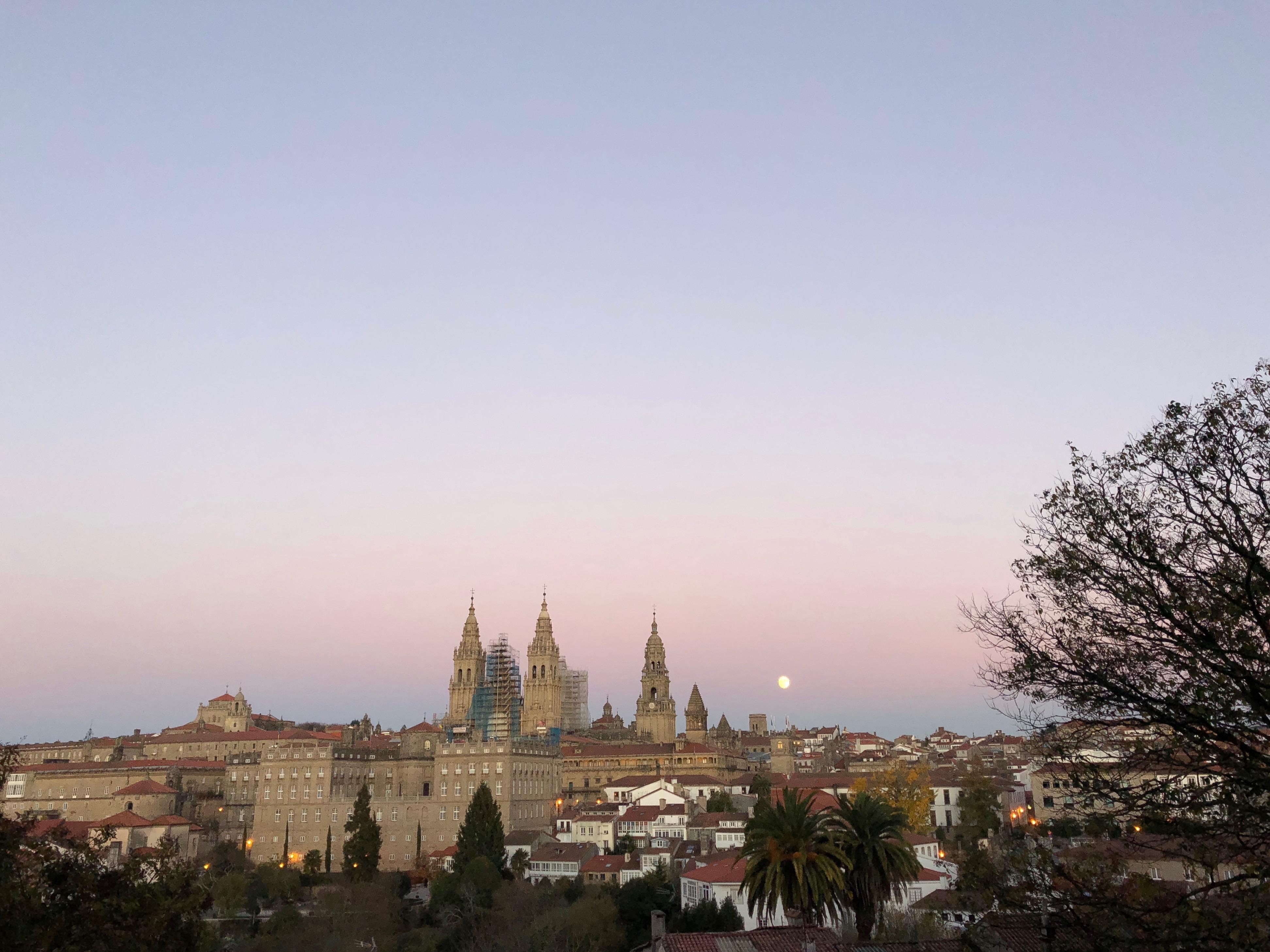Vista Santiago de Compostela