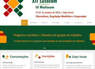 Programa definitivo do XII Congresso Lusocom