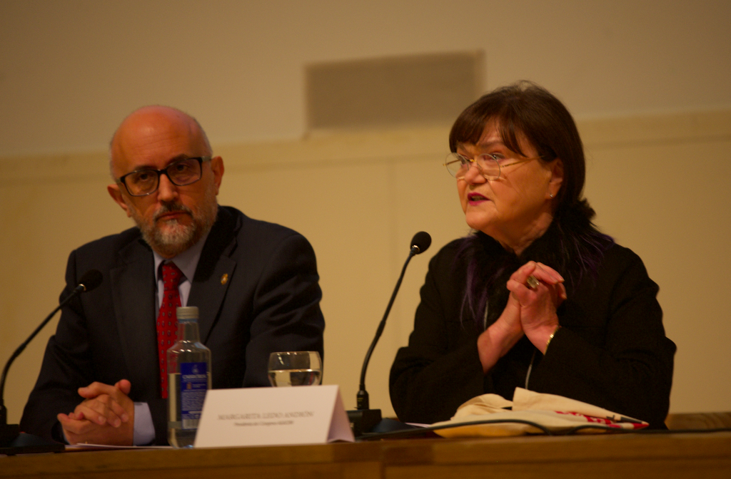 Margarita Ledo e Roberto J. López