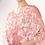 Thumbnail: Pink And White Floral Kaftan