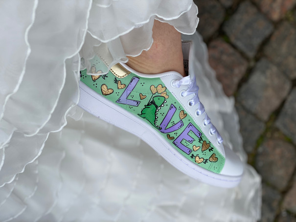 Custom sneaker - Will you marry me LOVE
