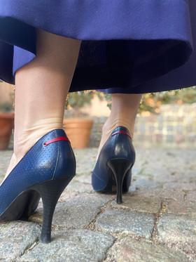 Custom shoes Tiger pumps hälar