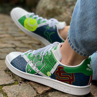 Custom sneakers - Stan(d) strong utsida vänster