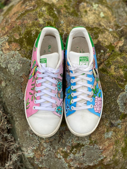 Custom sneakers - Chinoiserie uppifrån