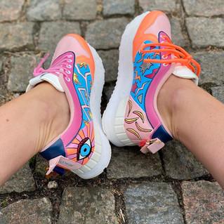 Custom sneakers - Stay rad insidor