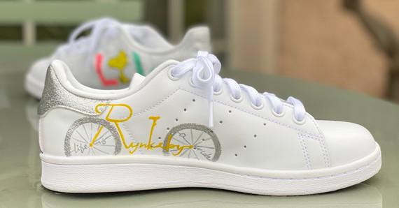 Custom sneaker Glowgetter Team Rynkeby