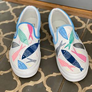 Custom sneakers - Mr Fisherman