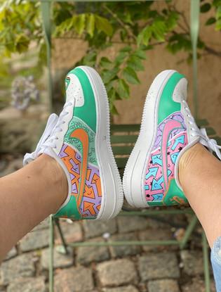 Custom sneakers - like what you do profil bakifrån