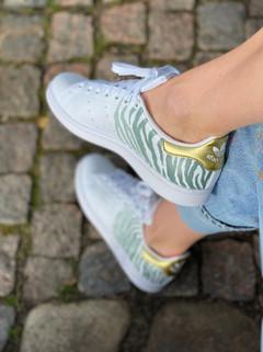 Custom sneakers - Zebra love korsade ben