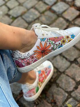 Custom sneakers - Sommaräng Porträtt hö