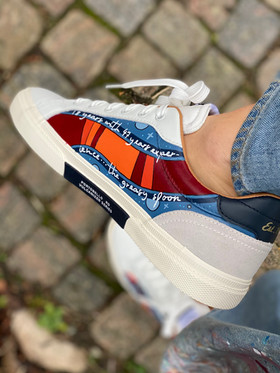 Custom sneakers - Dr Who hö insida