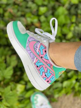 Custom sneakers - like what you do rosa/lila