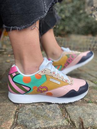 Custom sneakers - Epic shit profil gul