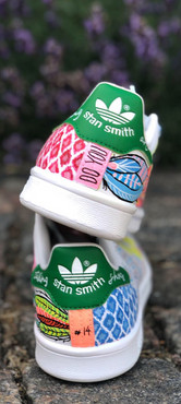 Custom sneaker Leaf mania do you