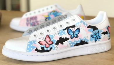 Custom sneakers - Fierce femme skopar