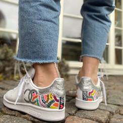Custom sneaker Glowgetter jeans