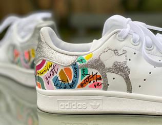 Custom sneaker Glowgetter handfängsel