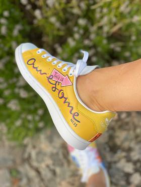 Custom sneakers - Awesomeness hö insida