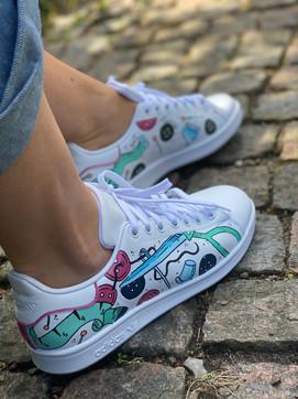 Custom sneakers - Syjuntan profil