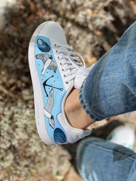 Custom sneakers - Se gla ut ankare