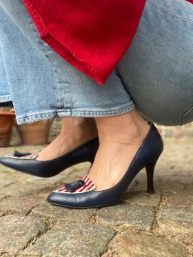 Custom shoes Tiger pumps huksittande