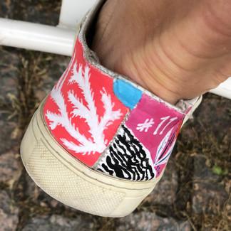 Custom sneakers When life gives you lemons häl 1