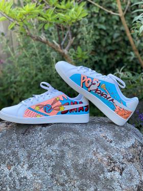 Custom sneakers - Smash profil på sten