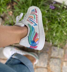 Custom sneakers - City of angels höger