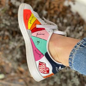 Custom sneaker - New York solsken