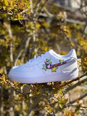 Custom sneakers - Bästisar Ebba
