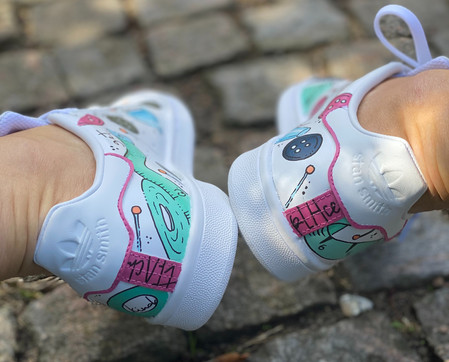 Custom sneakers - Syjuntan hälar