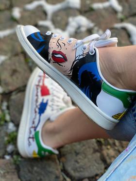 Custom sneakers - Wonder woman mun