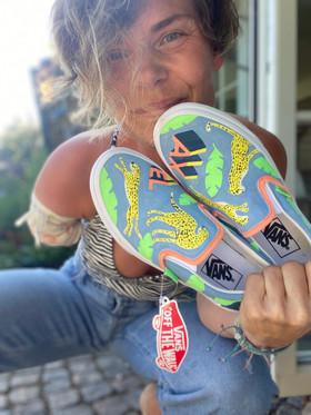Custom sneakers - Superhjälte med mig