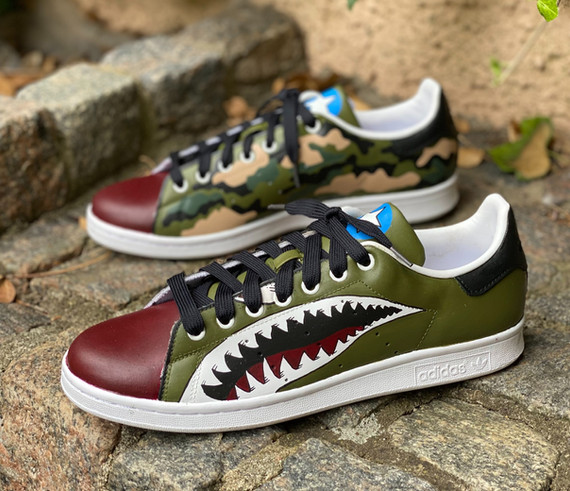 Custom sneakers - Warhawk profile