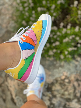 Custom sneakers - Awesomeness vä insida