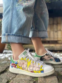 Custom sneakers - Wonder woman elqvinna