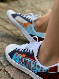 Custom sneakers - He-Man - Masters