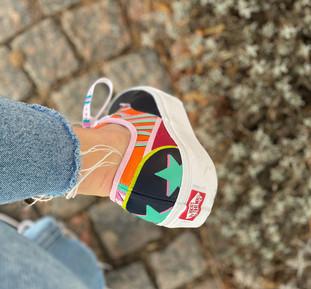Custom sneakers Super duper häl
