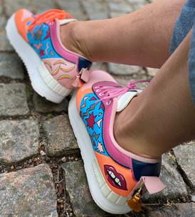 Custom sneakers - Stay rad profil vä