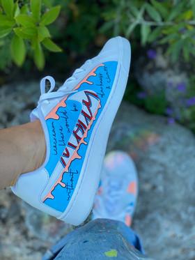 Custom sneakers - Smash vä insida