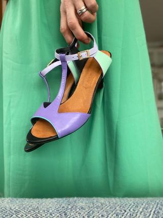Custom shoes - Chie Mihara i hand