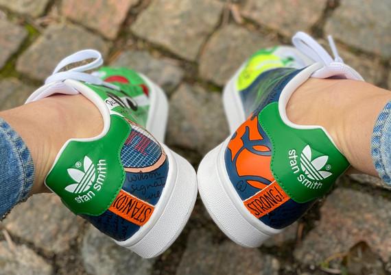 Custom sneakers - Stan(d) strong hälar