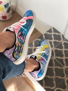 Custom sneakers Doodling Elliot