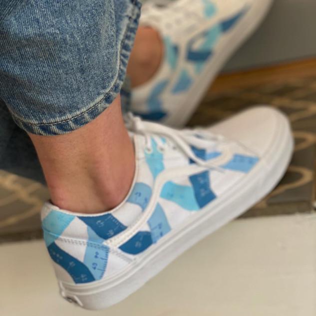 Custom sneakers - Growing