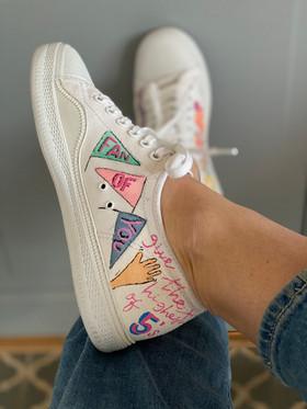 Custom sneaker - Reach for the stars Fan of you