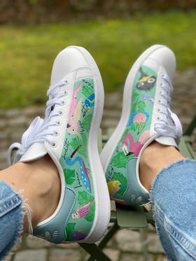 Custom sneaker - En udda fågel profil