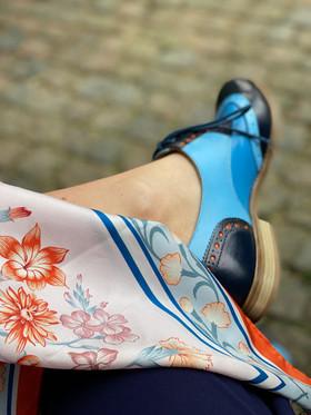 Kostymsko Jim Thomson - vä sko med sjal