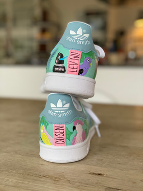 Custom sneaker - En udda fågel hälparti